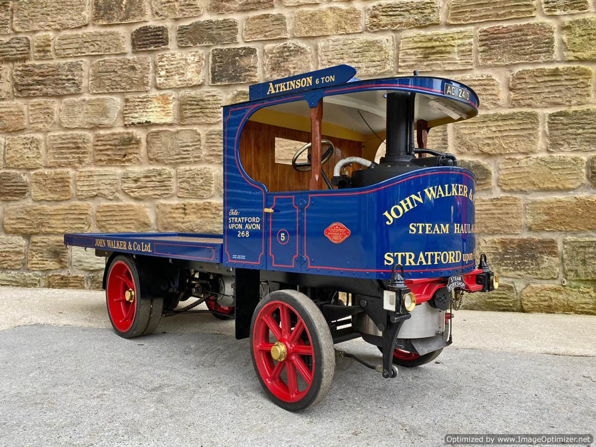 test 3 inch Atkinson Live Steam Lorry for Sale (1)