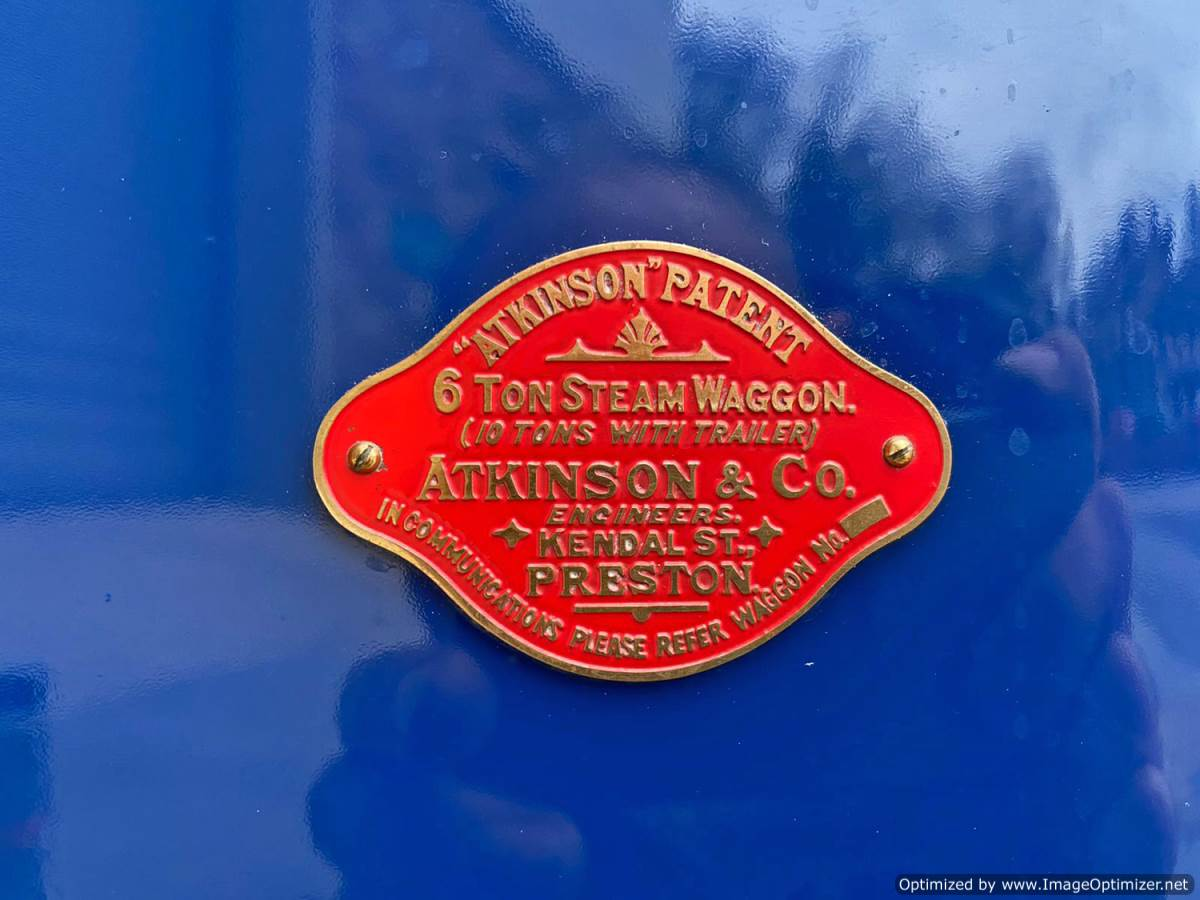 test 3 inch Atkinson Live Steam Lorry for Sale (13)