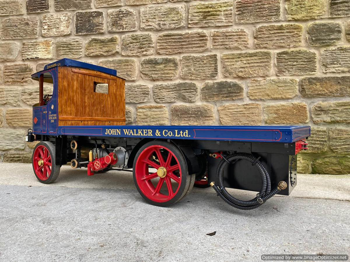 test 3 inch Atkinson Live Steam Lorry for Sale (16)