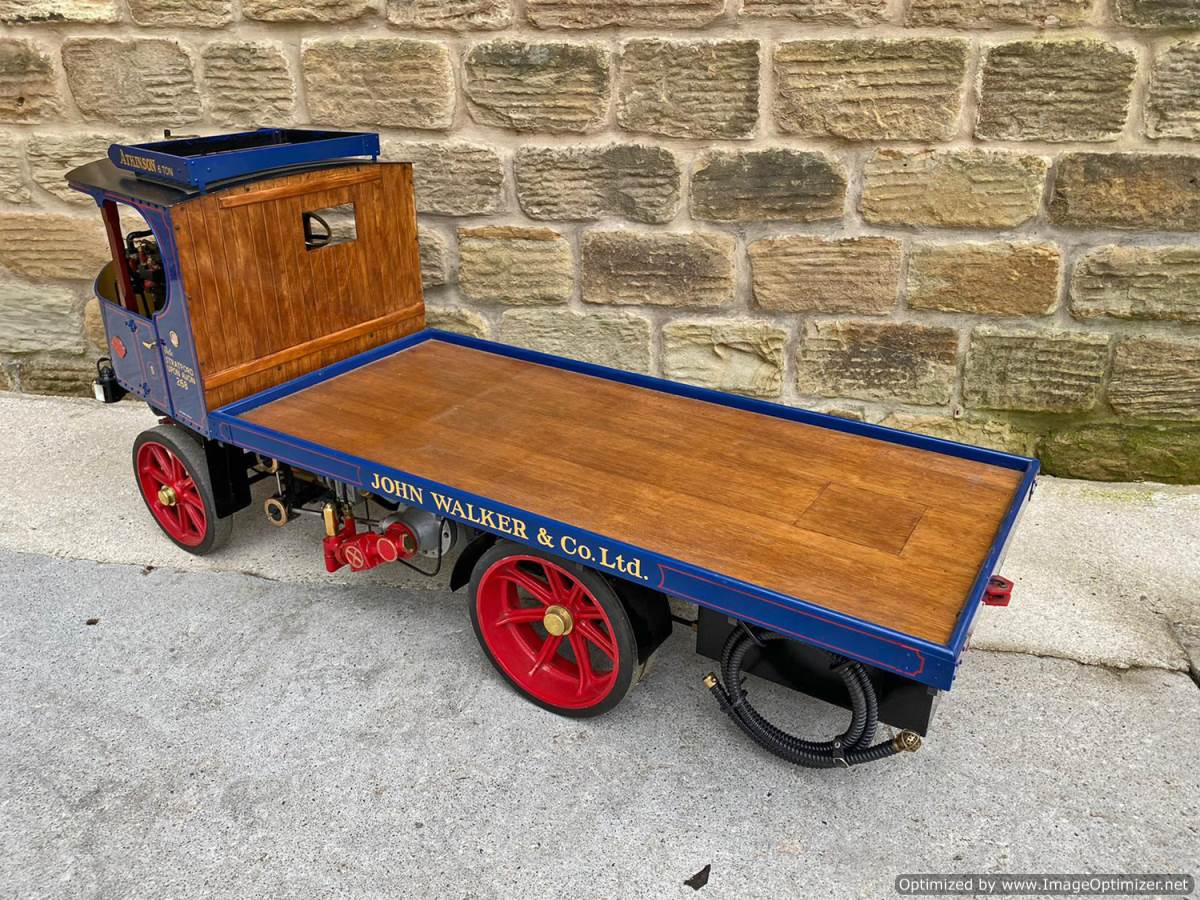 test 3 inch Atkinson Live Steam Lorry for Sale (18)