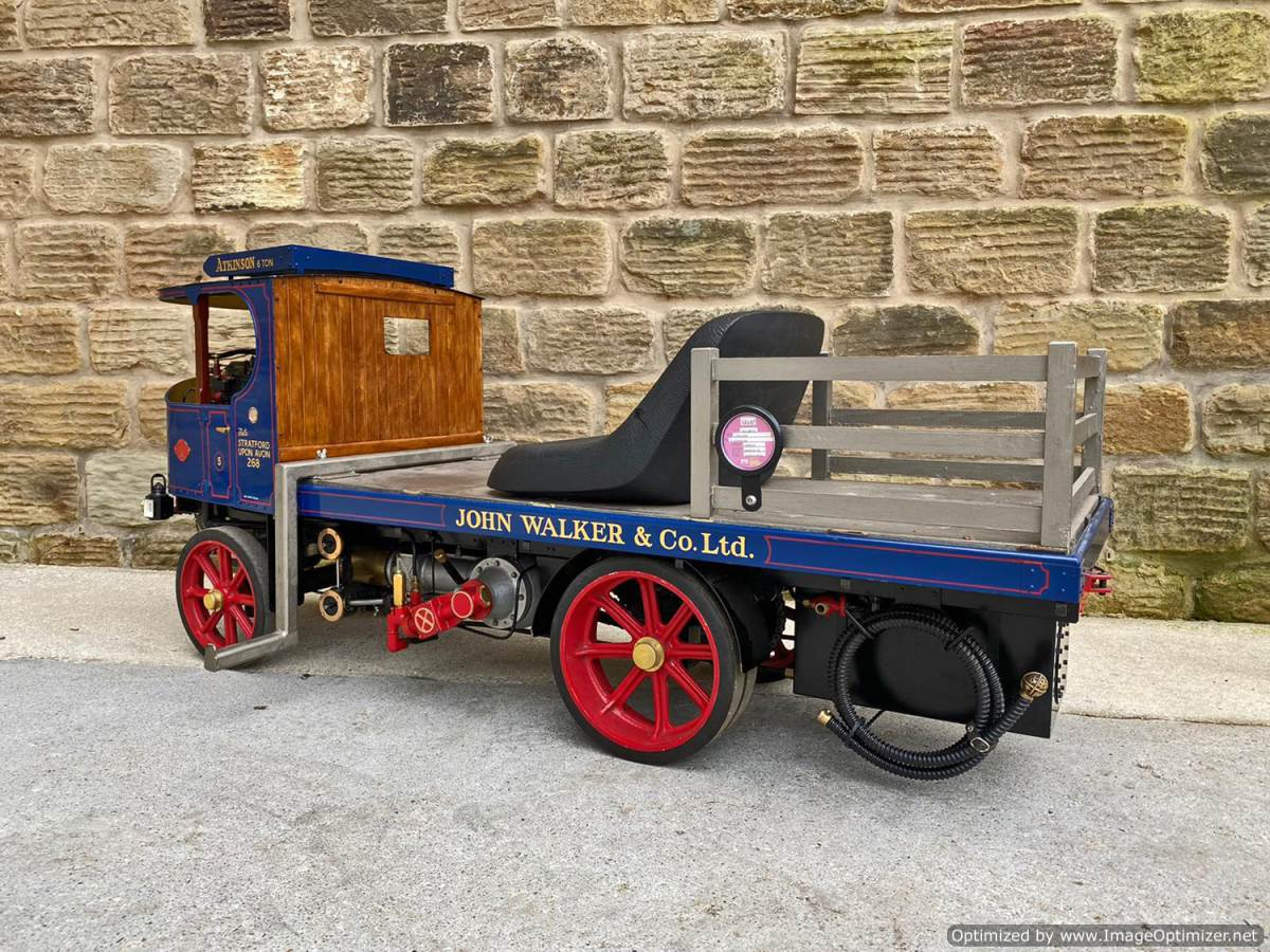test 3 inch Atkinson Live Steam Lorry for Sale (2)