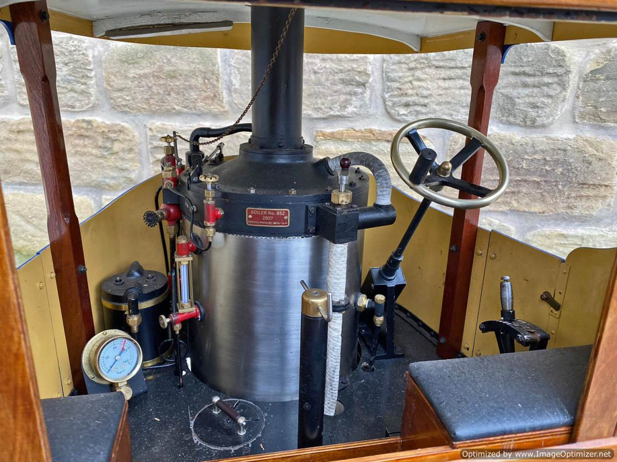 test 3 inch Atkinson Live Steam Lorry for Sale (28)
