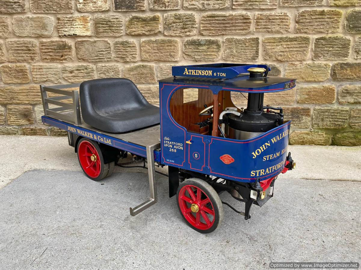 test 3 inch Atkinson Live Steam Lorry for Sale (4)
