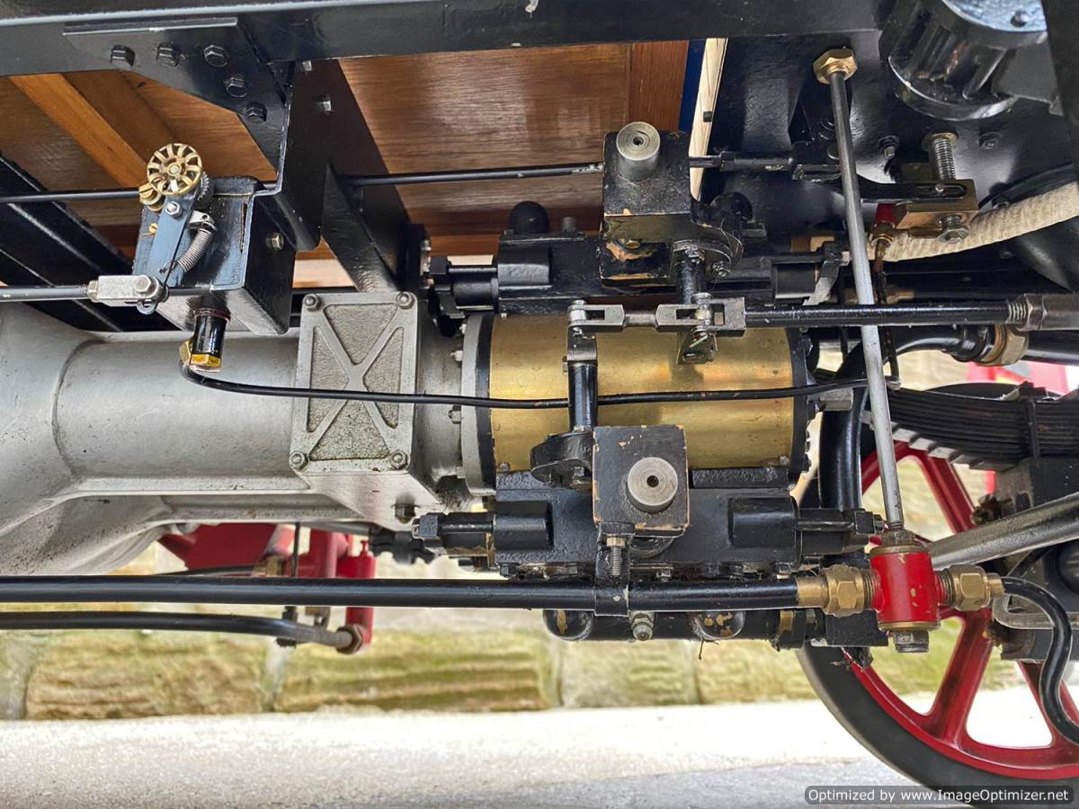 test 3 inch Atkinson Live Steam Lorry for Sale (9)