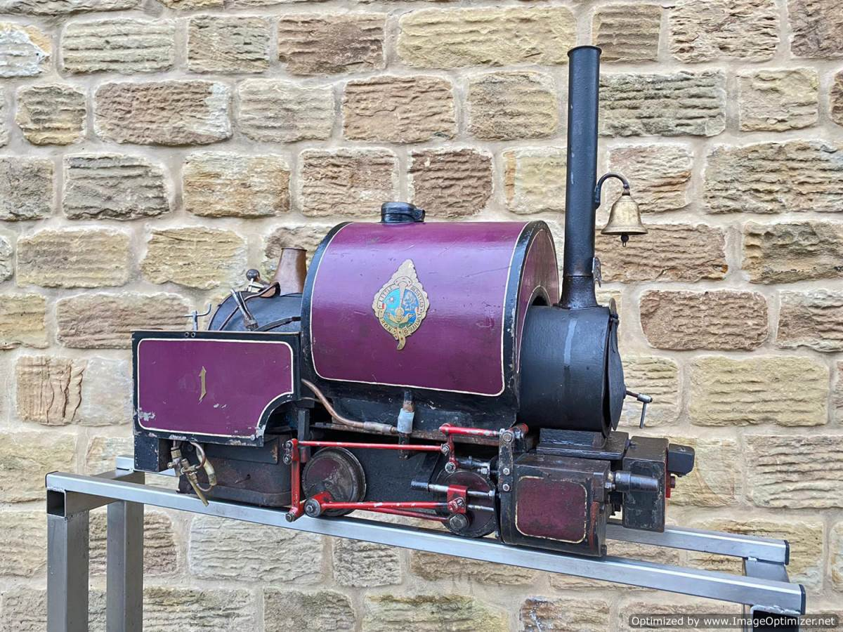 test 5 inch Emmet Live Steam Loco for sale (1)