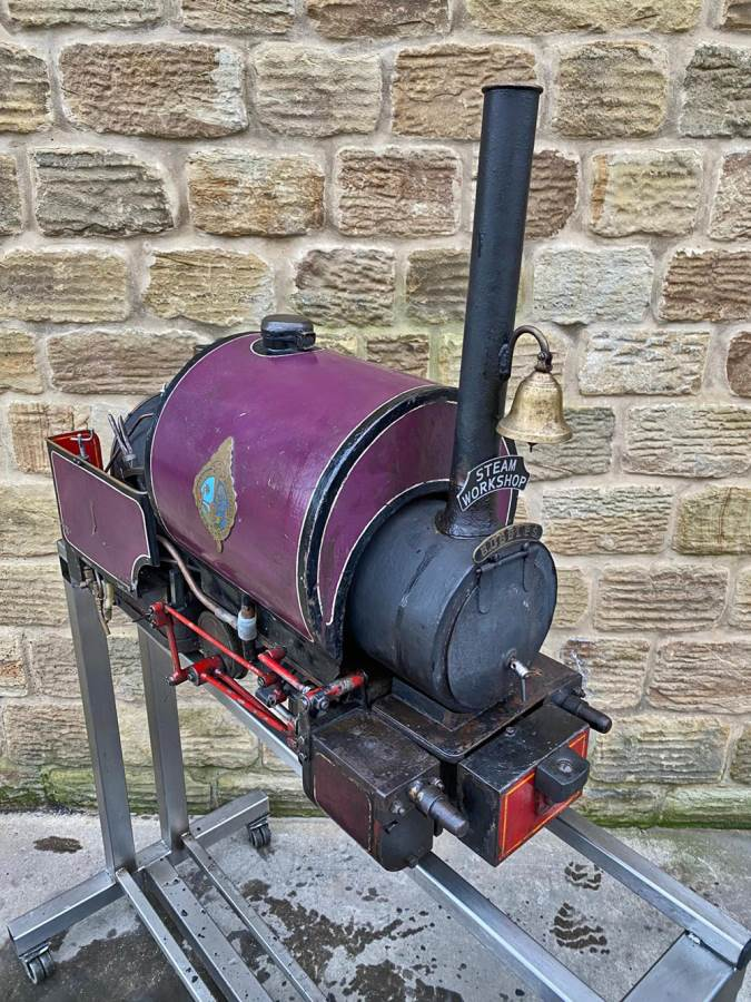 test 5 inch Emmet Live Steam Loco for sale (10)