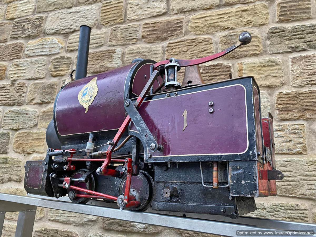 test 5 inch Emmet Live Steam Loco for sale (16)