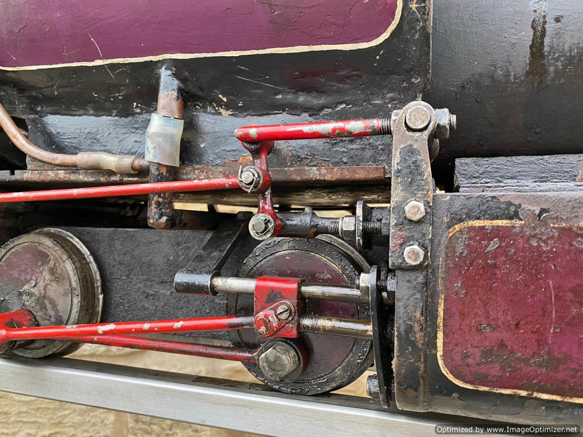 test 5 inch Emmet Live Steam Loco for sale (2)