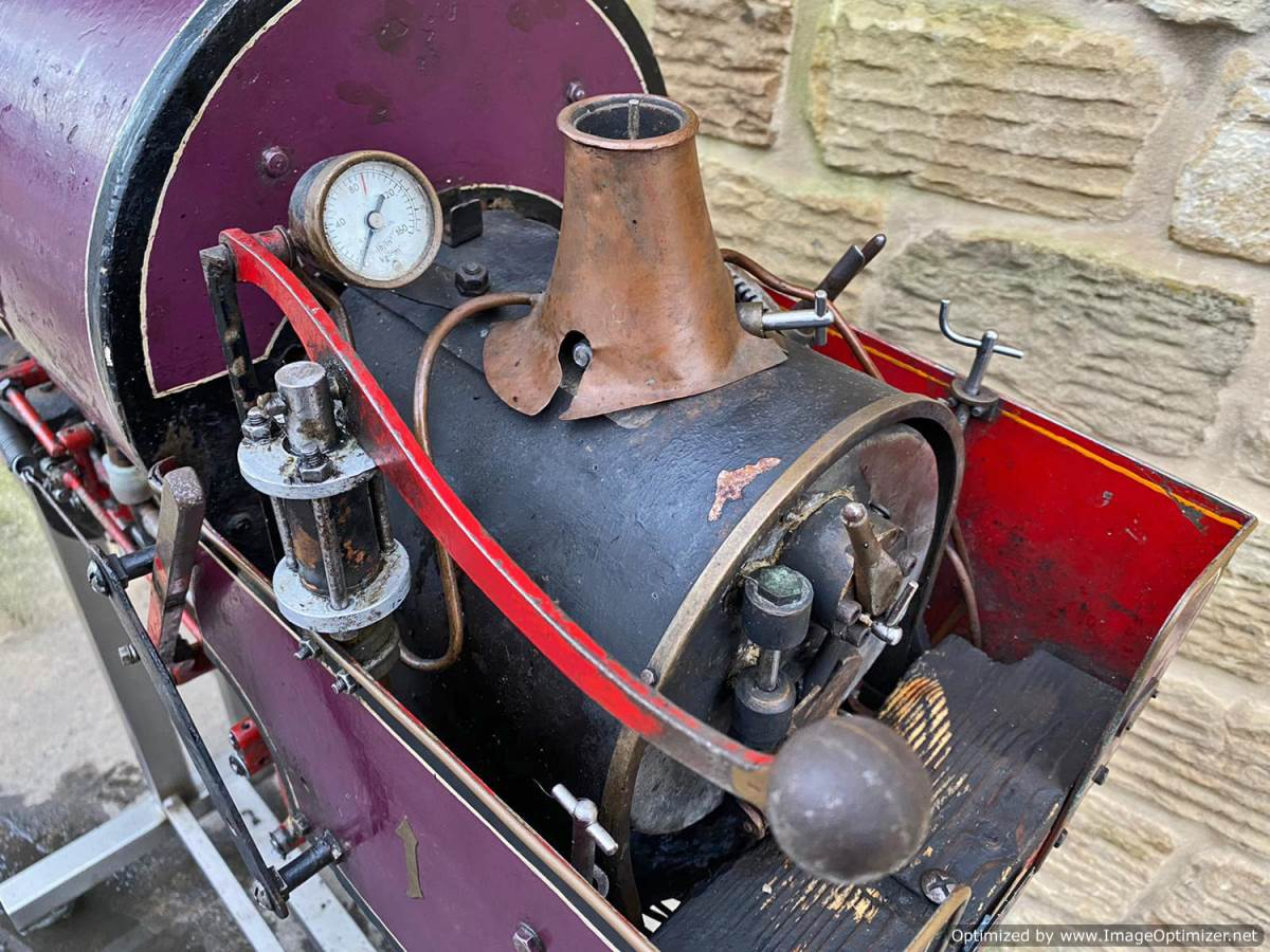 test 5 inch Emmet Live Steam Loco for sale (20)