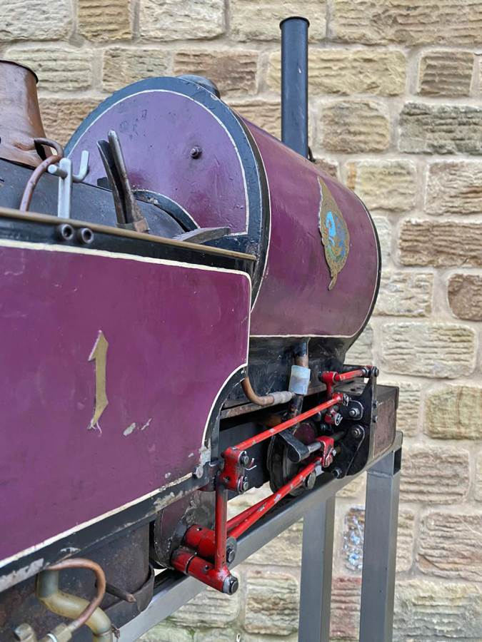 test 5 inch Emmet Live Steam Loco for sale (21)