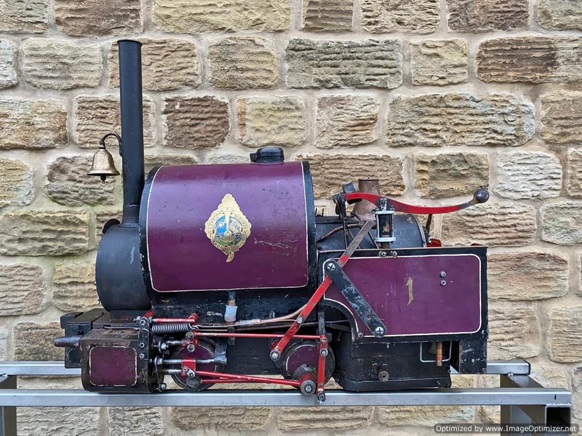 test 5 inch Emmet Live Steam Loco for sale (26)