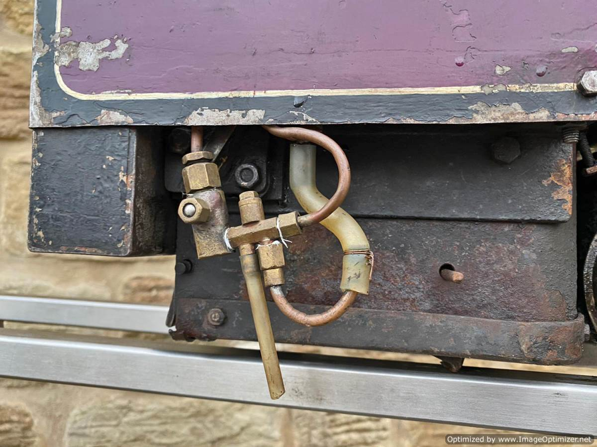 test 5 inch Emmet Live Steam Loco for sale (4)