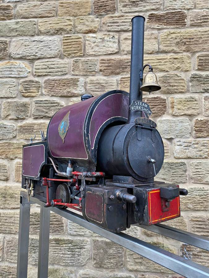 test 5 inch Emmet Live Steam Loco for sale (9)