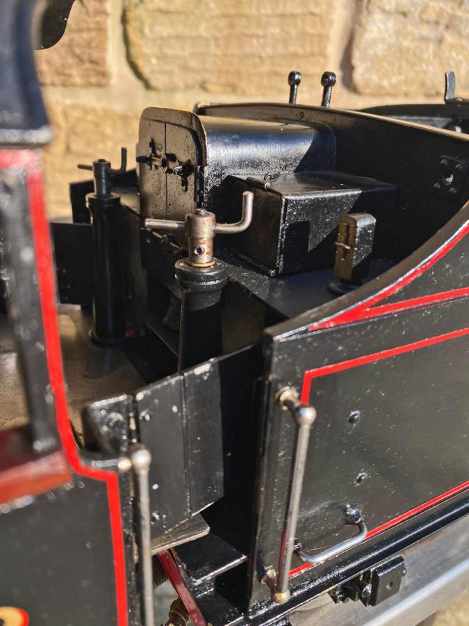 test 3 and a half inch LMS Stanier Mogul Princess Marina Live Steam For Sale (7)