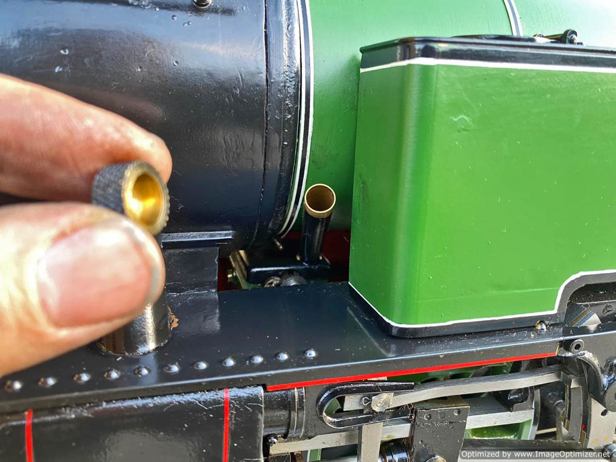 test 3 and a half inch LNER L1 live steam for sale (10)