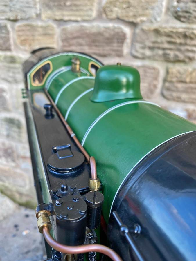 test 3 and a half inch LNER L1 live steam for sale (18)