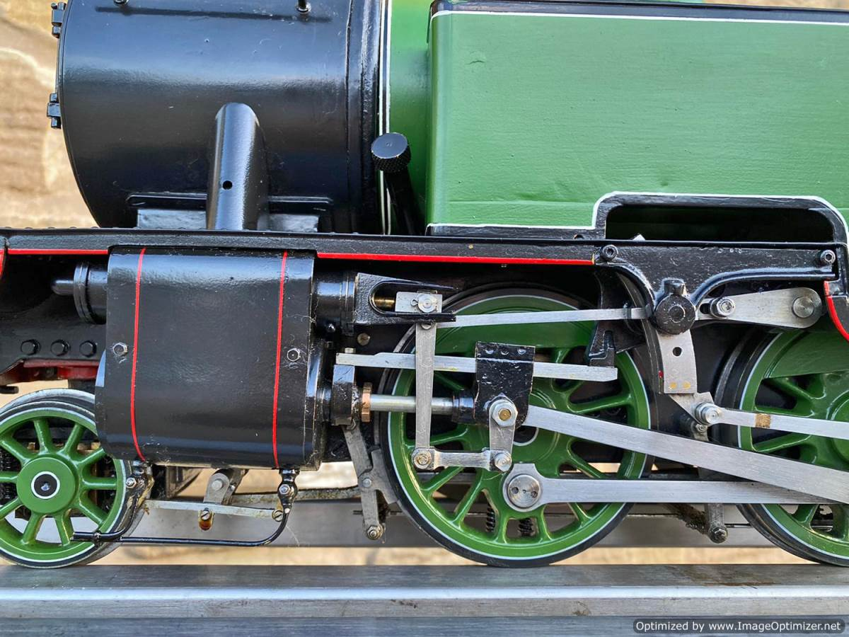 test 3 and a half inch LNER L1 live steam for sale (6)