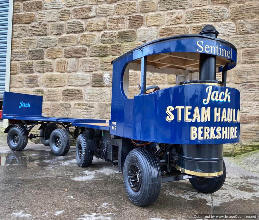 test 3 inch Scale Sentinel Steam Lorry Electric for Sale (blue) (1)