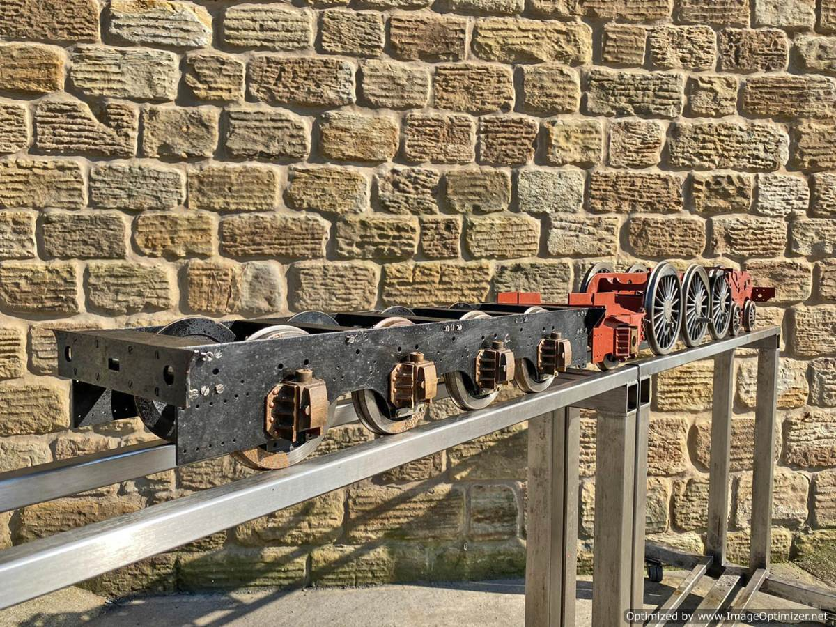 test 5 inch LNER A3 A4 Chassis Live Steam For Sale (12)