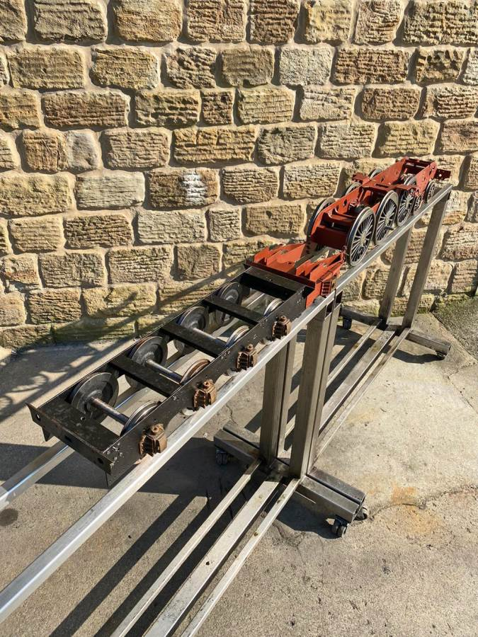 test 5 inch LNER A3 A4 Chassis Live Steam For Sale (14)