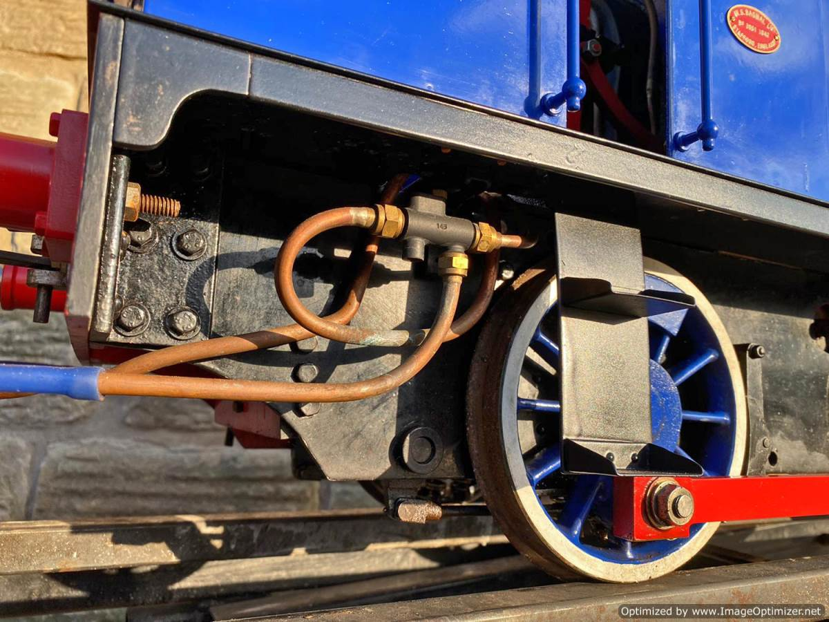 test 7 and a quater inch Holmside live steam locomotive for sale (21)