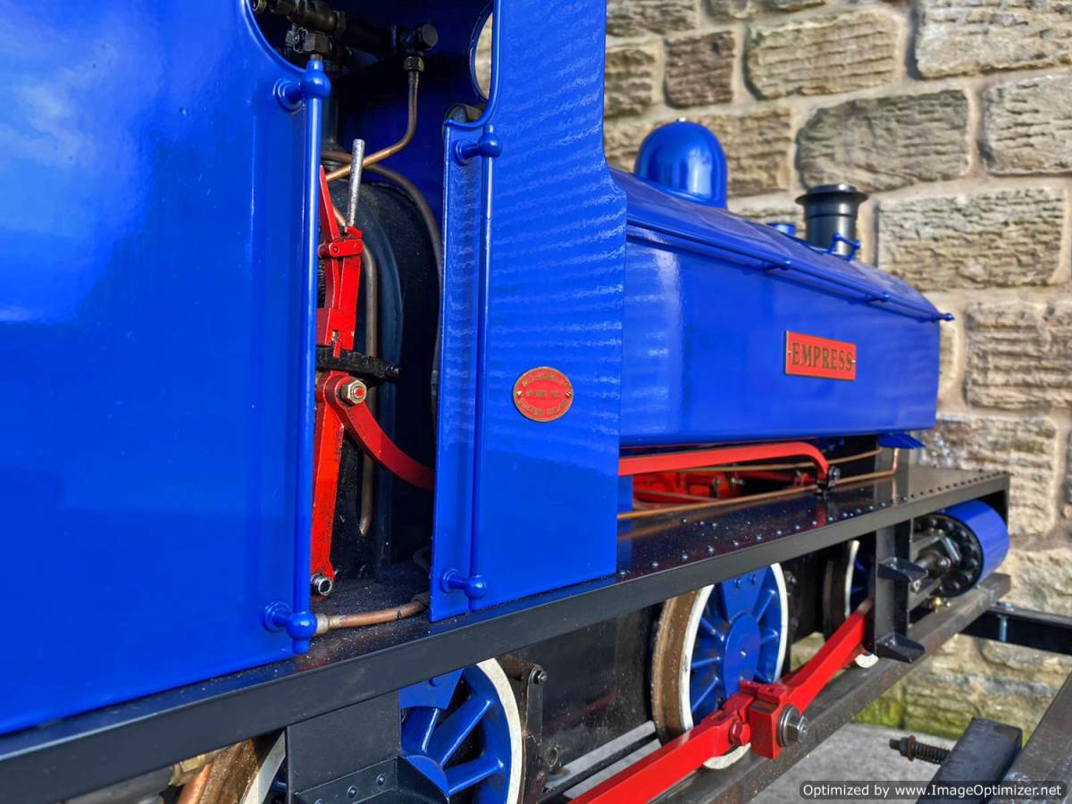 test 7 and a quater inch Holmside live steam locomotive for sale (25)