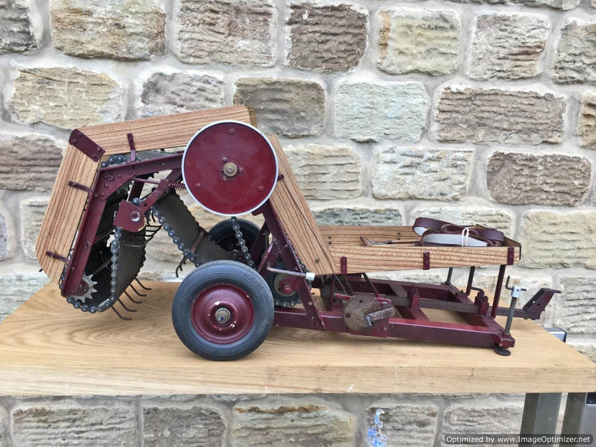 test 2 inch scale Bailer Live Steam Traction Engine for sale (2)