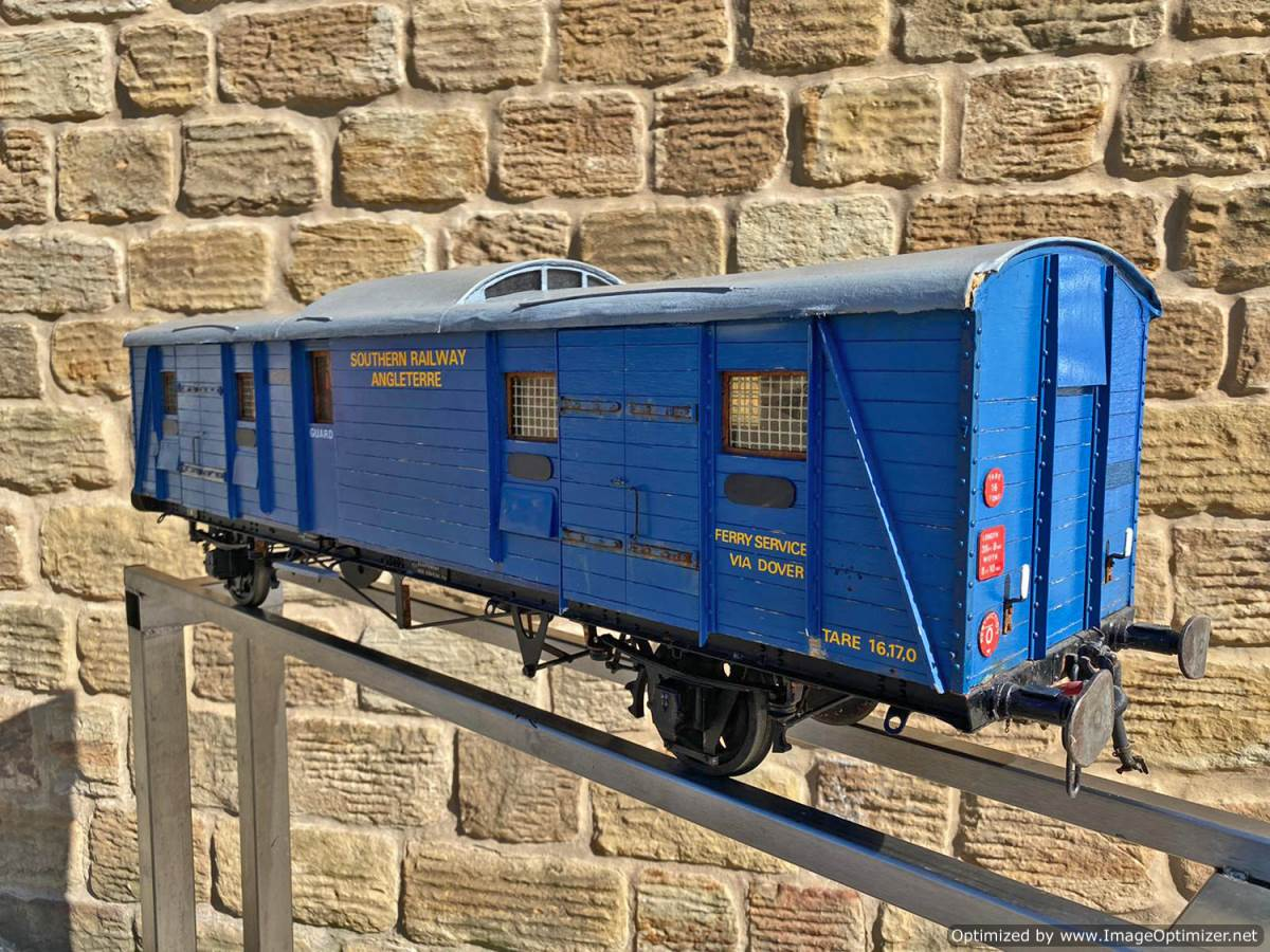 test 5 inch Fish Train Van Live Steam for Sale (10)