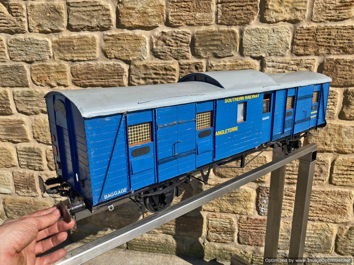 test 5 inch Fish Train Van Live Steam for Sale (13)