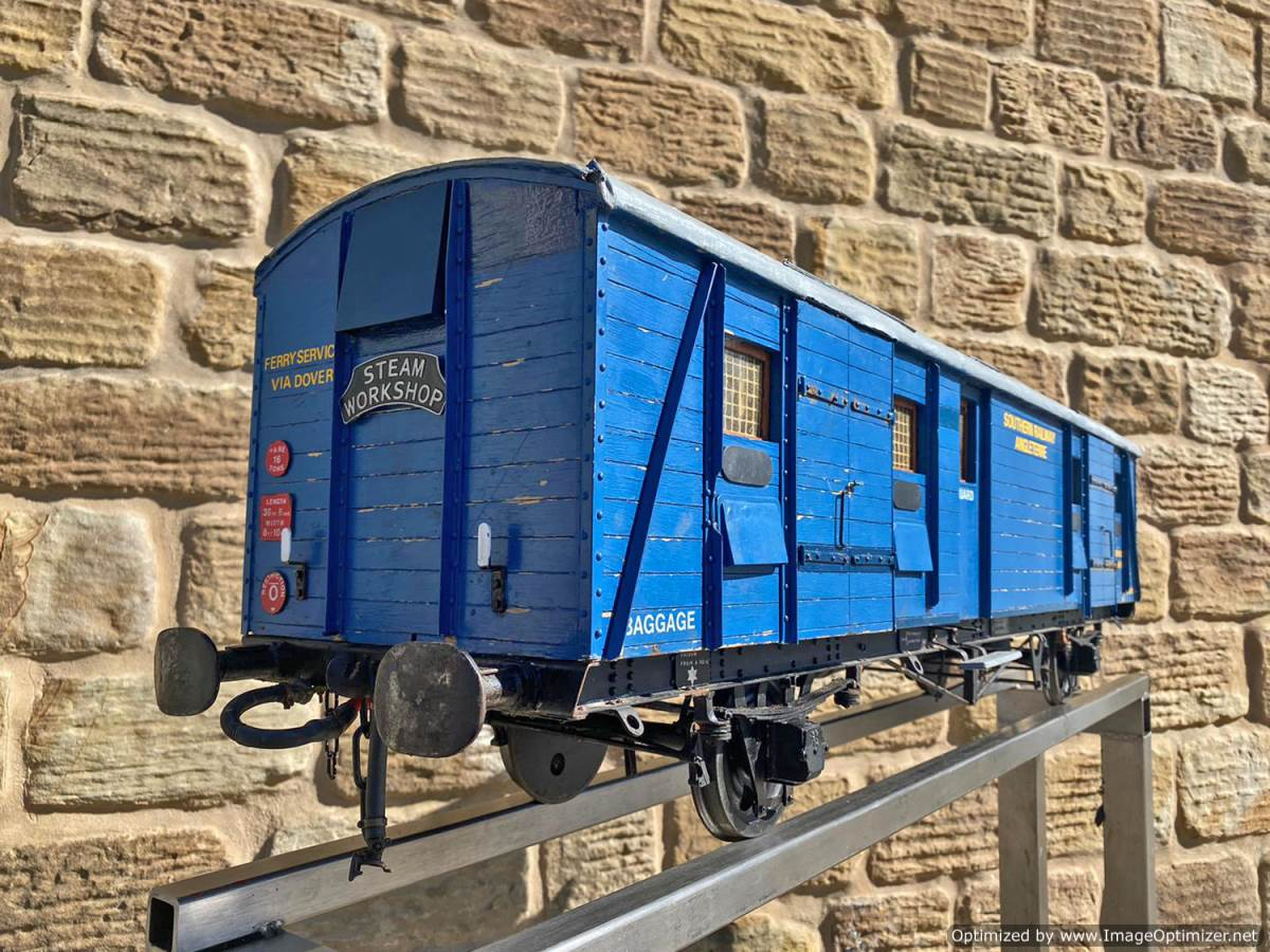 test 5 inch Fish Train Van Live Steam for Sale (3)
