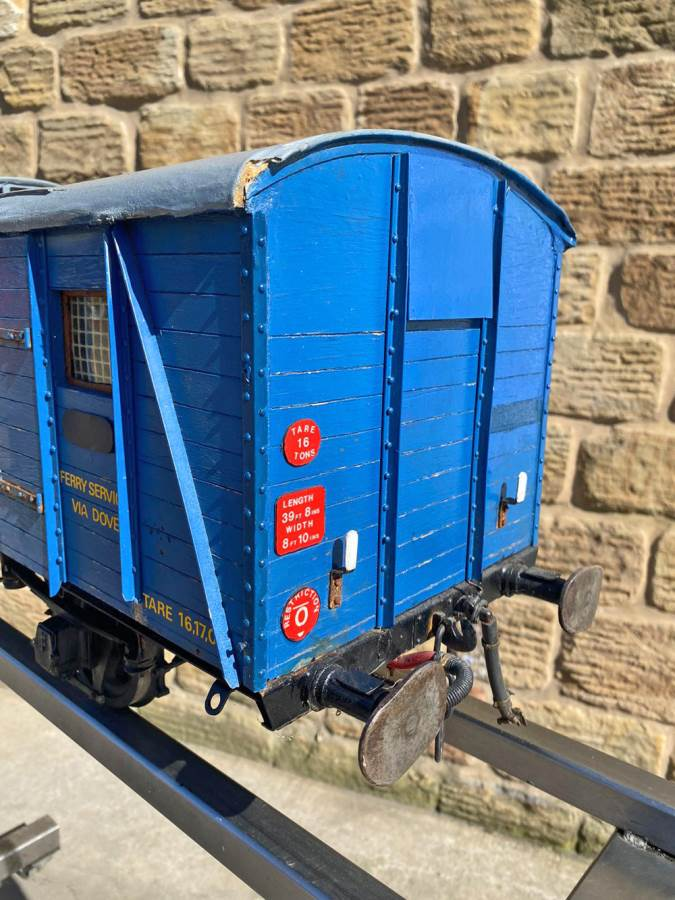 test 5 inch Fish Train Van Live Steam for Sale (6)