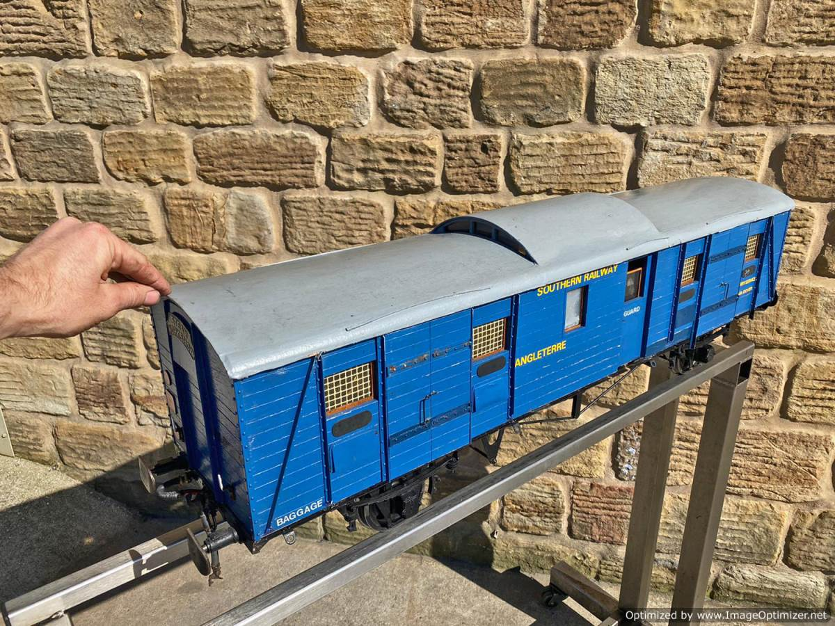 test 5 inch Fish Train Van Live Steam for Sale (9)