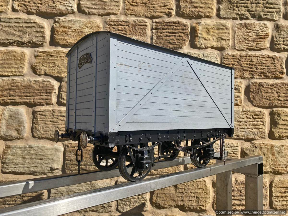 test 5 inch Generator Van Live Steam For Sale (2)