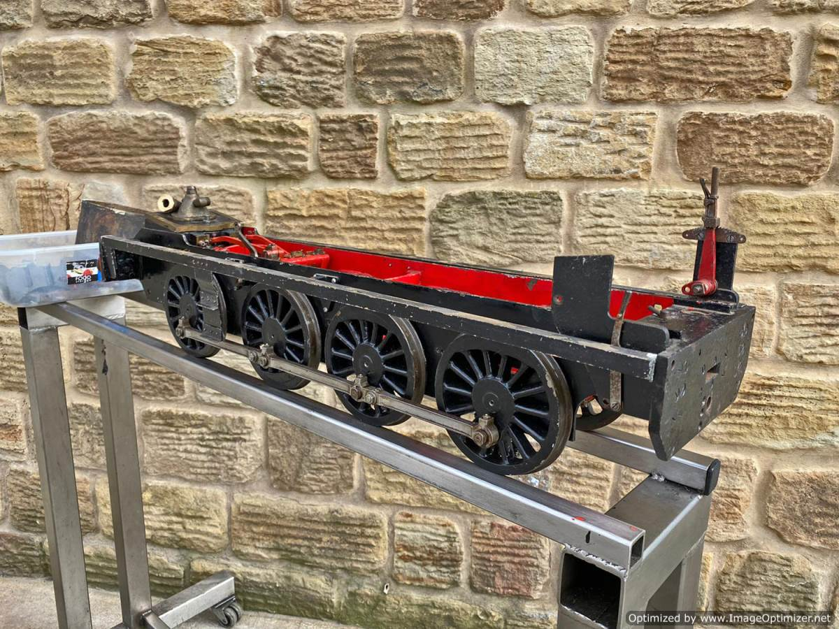 test 5 inch LMS 7F Austin 7 live steam for sale (6)