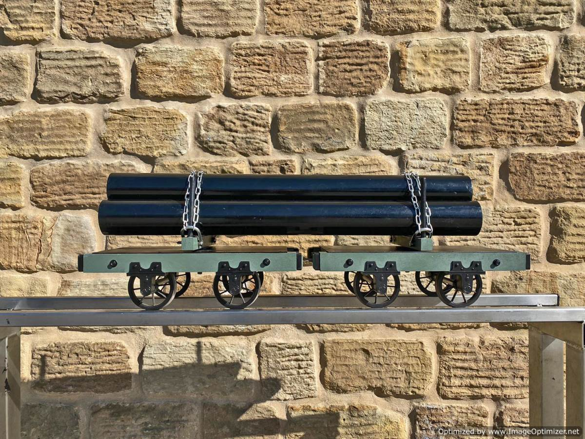test 5 inch Narrow Gauge Pipe Wagon Live Steam For Sale (3)