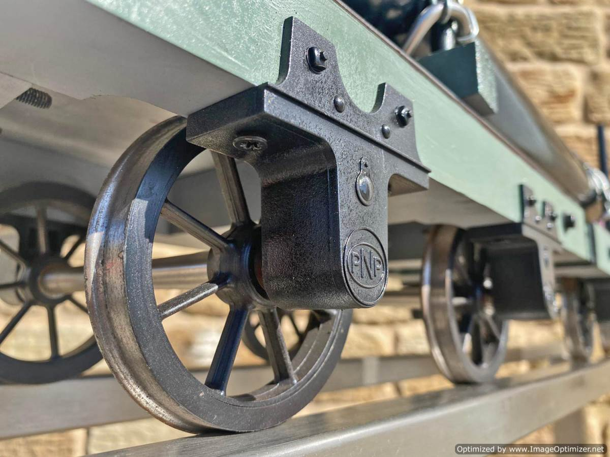 test 5 inch Narrow Gauge Pipe Wagon Live Steam For Sale (9)