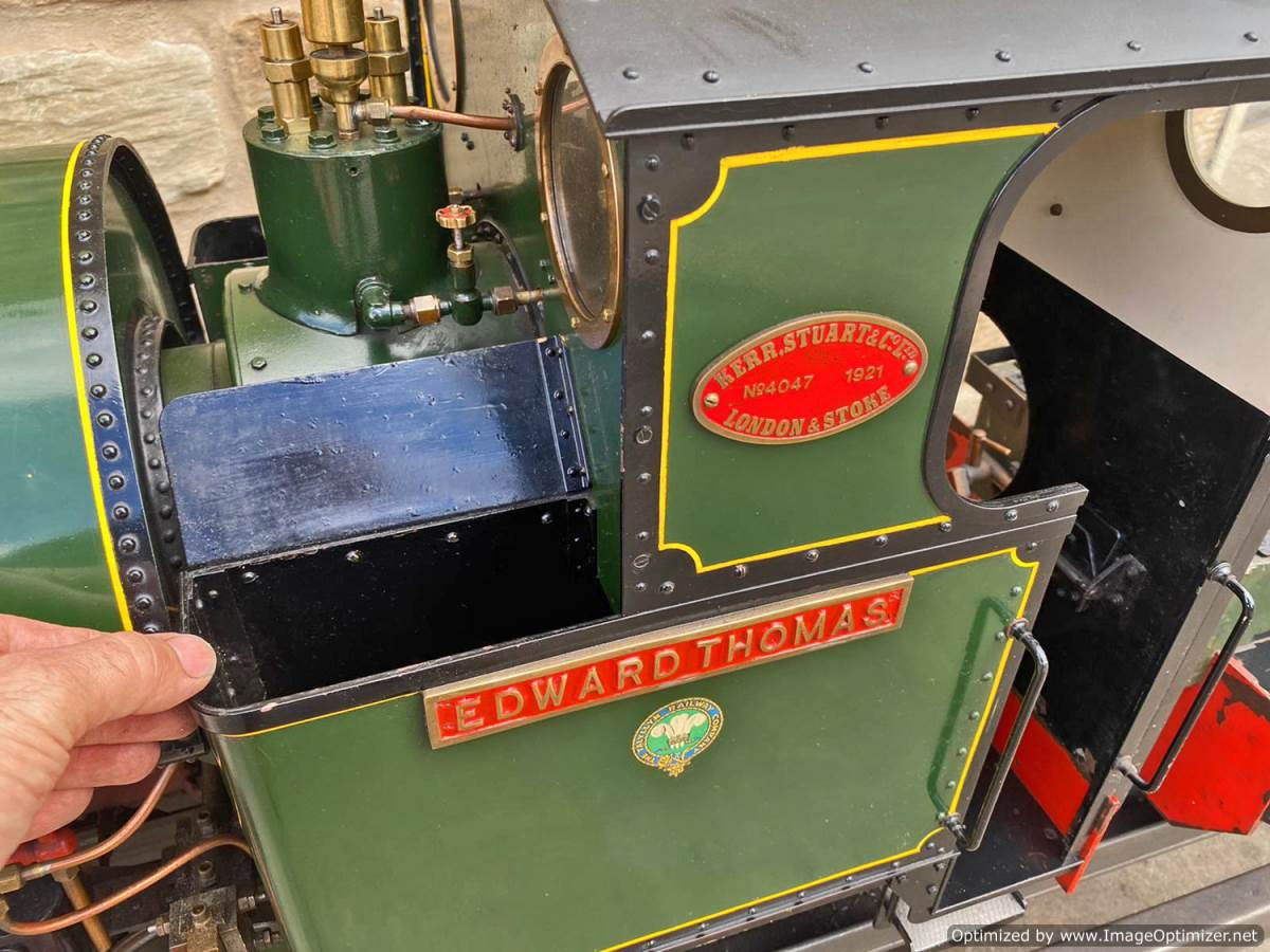 test 7 and a quarter Edward Thomas Live Steam for sale (15)
