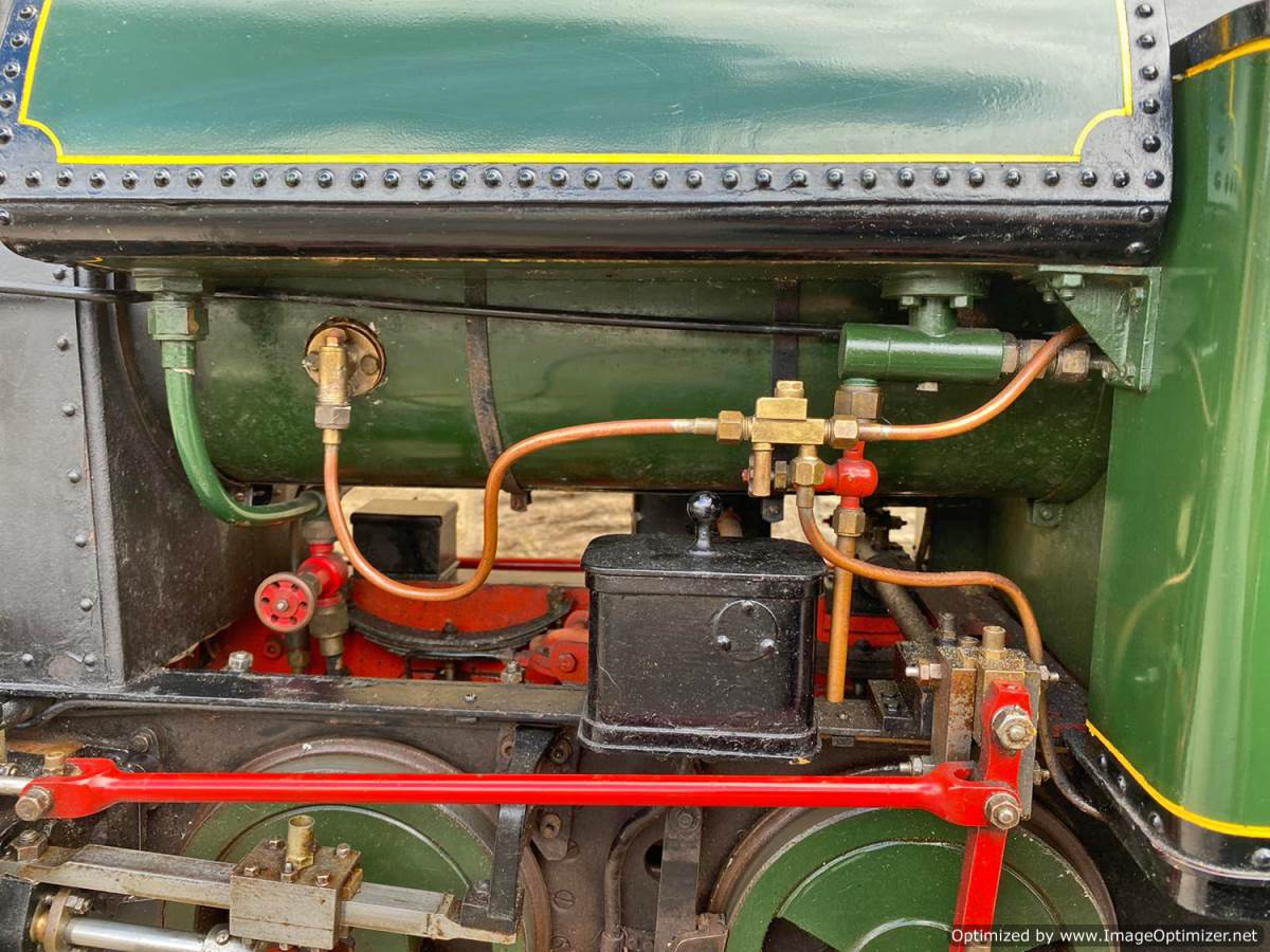 test 7 and a quarter Edward Thomas Live Steam for sale (16)