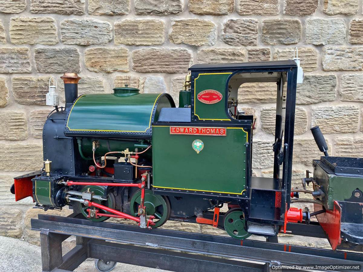 test 7 and a quarter Edward Thomas Live Steam for sale (21)