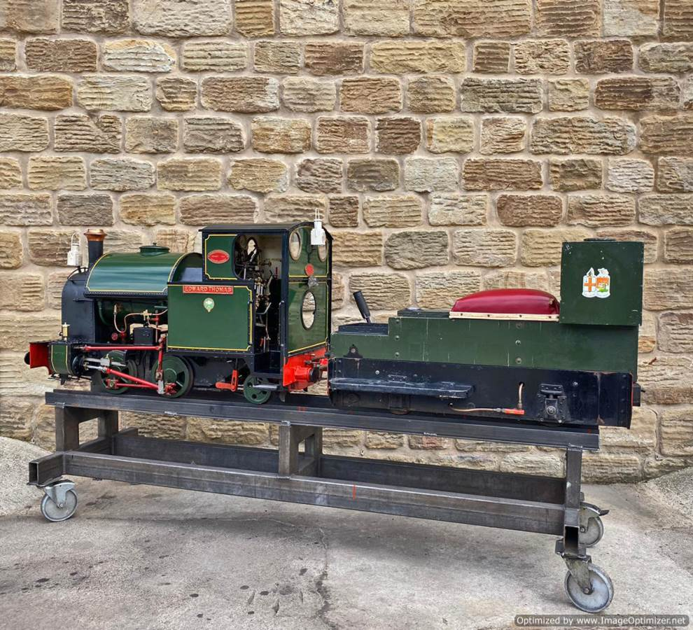 test 7 and a quarter Edward Thomas Live Steam for sale (22)