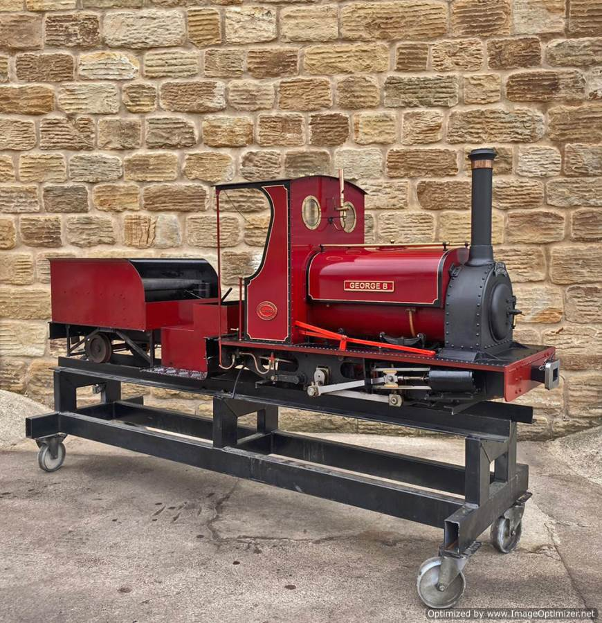 test 7 and a quarter Quarry Hunslet Live Steam for sale (1)