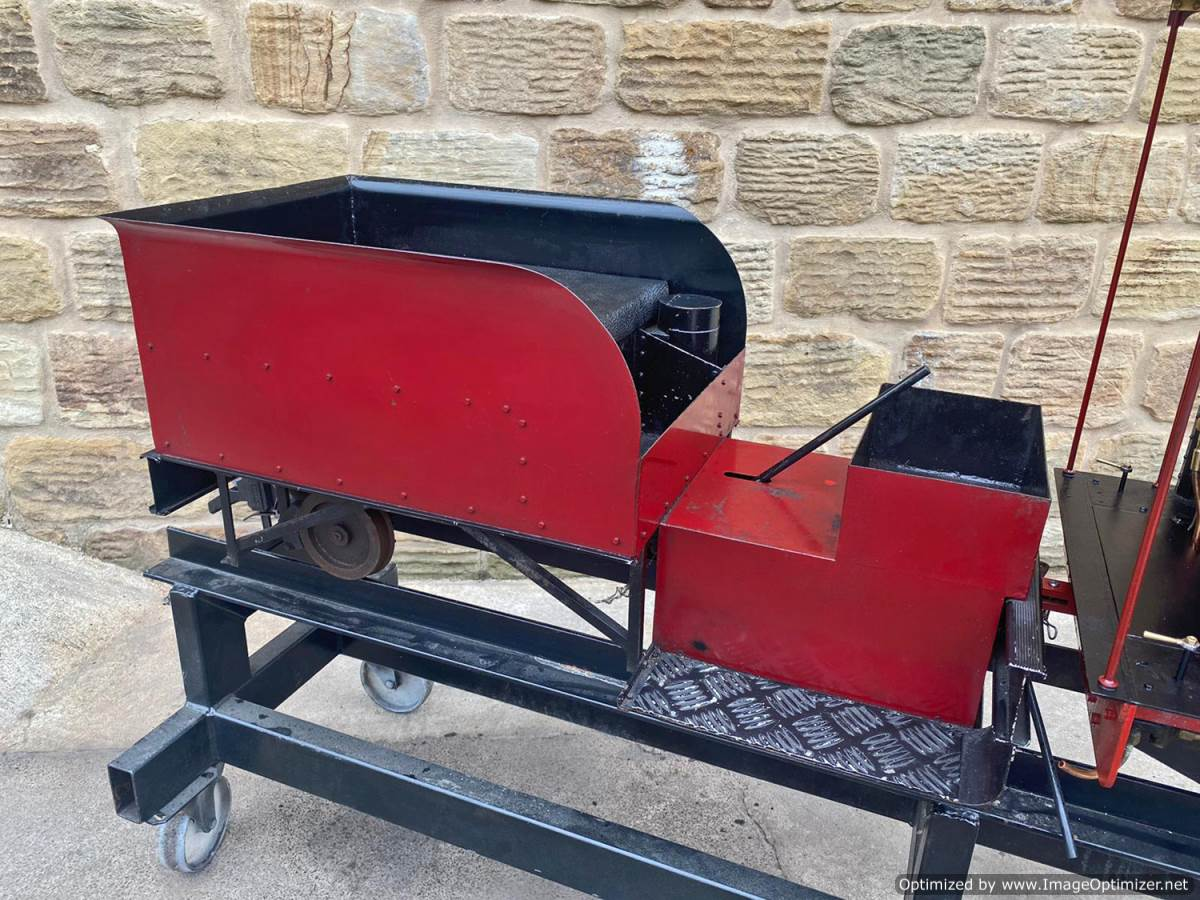 test 7 and a quarter Quarry Hunslet Live Steam for sale (10)
