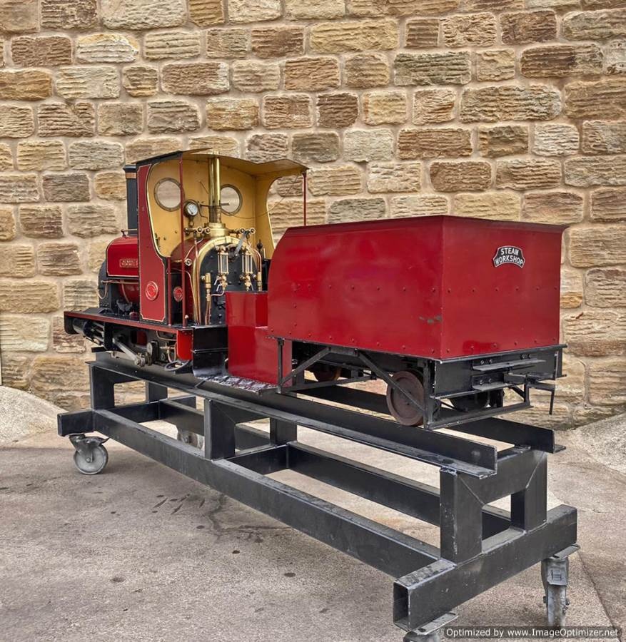 test 7 and a quarter Quarry Hunslet Live Steam for sale (13)