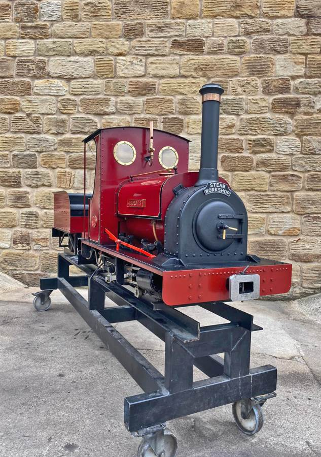 test 7 and a quarter Quarry Hunslet Live Steam for sale (14)