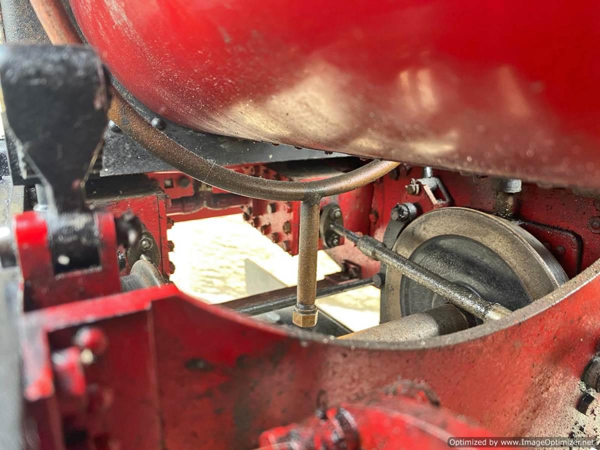 test 7 and a quarter Quarry Hunslet Live Steam for sale (19)