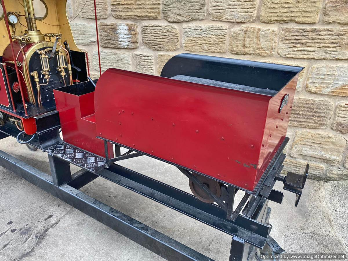 test 7 and a quarter Quarry Hunslet Live Steam for sale (20)