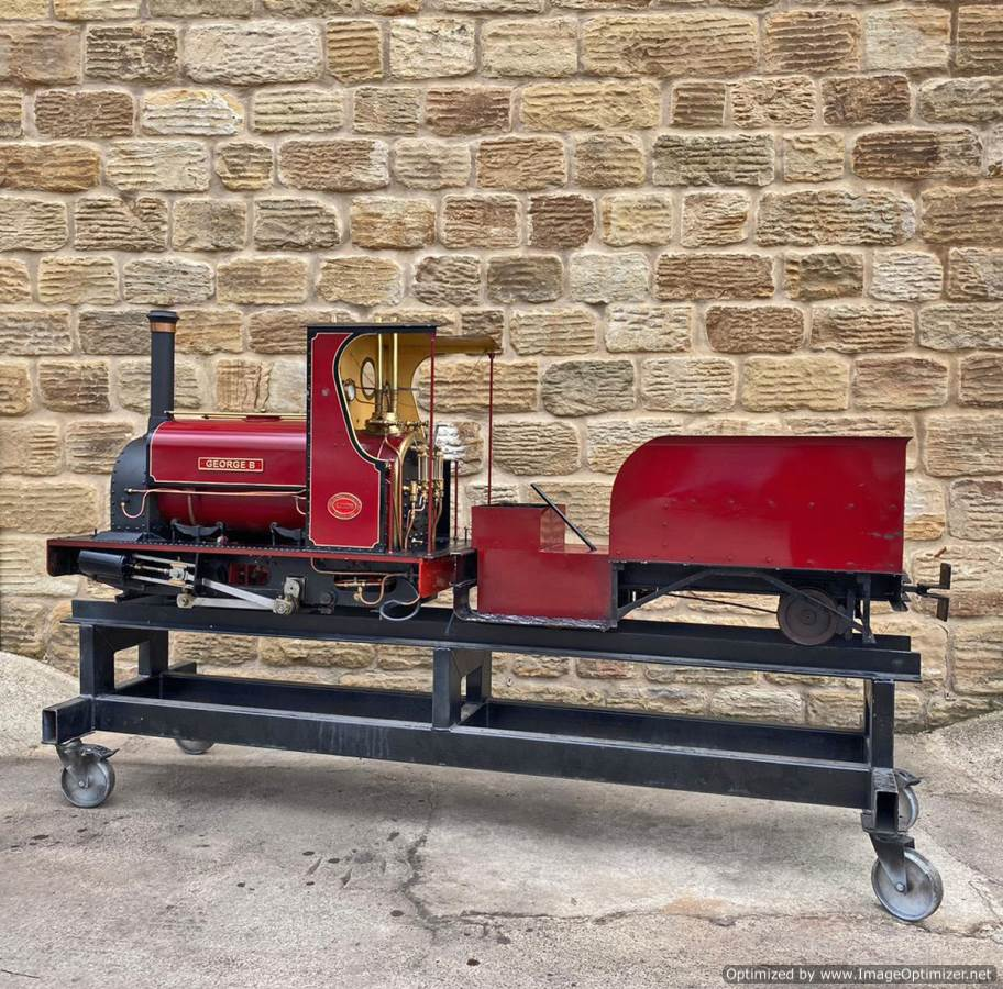 test 7 and a quarter Quarry Hunslet Live Steam for sale (21)