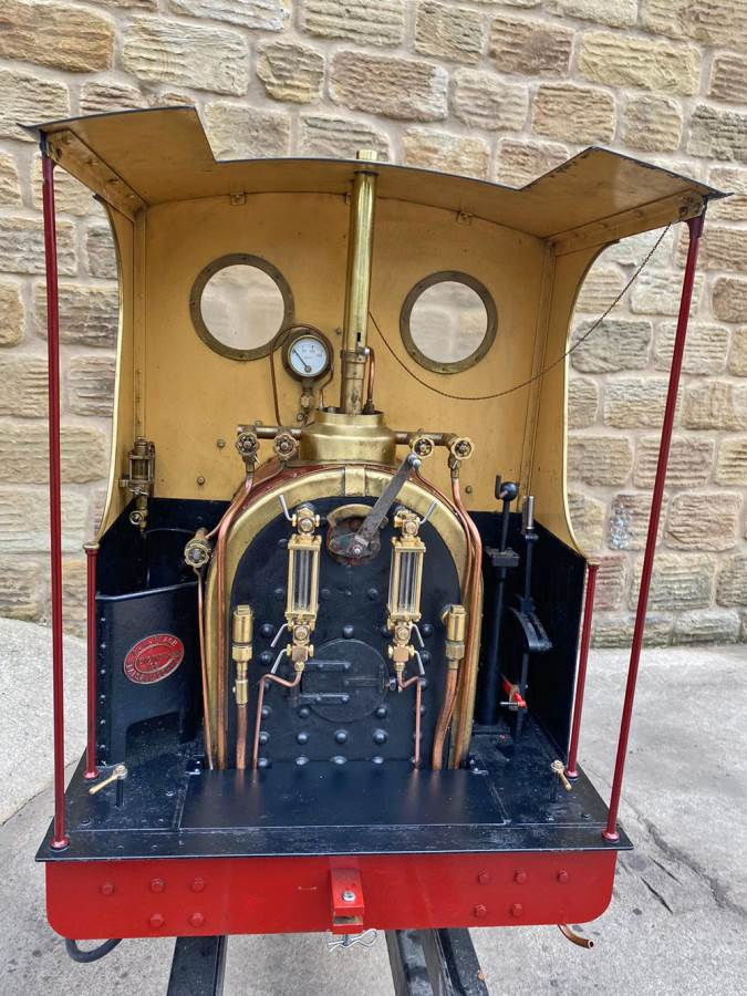 test 7 and a quarter Quarry Hunslet Live Steam for sale (23)