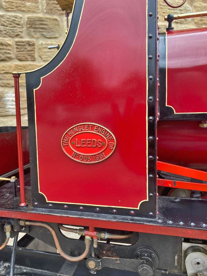 test 7 and a quarter Quarry Hunslet Live Steam for sale (6)
