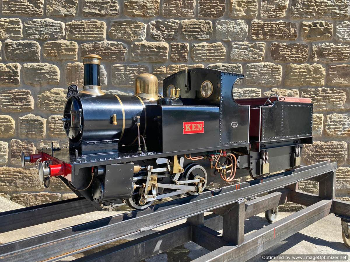 test 7 and a quarter inch LBSC Tich Live Steam for sale (26)